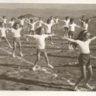 Γυμναστικές επιδείξεις. Φωτογραφία από το αρχείο του Α. Φαράντου (1974)
