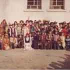 Σχολική γιορτή. Φωτογραφία από το αρχείο του Α.Φαράντου (1985)
