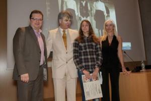 Με τον εκπρόσωπο του Υπουργείου Παιδείας, κ. Νίκο Κασκαβέλη, την Πρόεδρο κ. Ευαγγελία Κανταρτζή και Αντιπρόεδρο κ. Μπάμπη Γεωργάκαινα